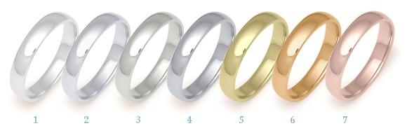 Barvy Zlata A Povrchova Uprava Snubni Prsteny Ppluhar